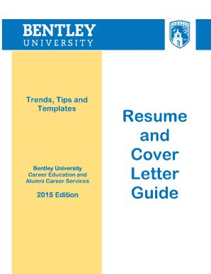 Resume & Cover Letter Guide - Career Services